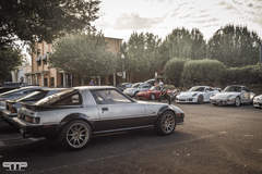 Cars, Bikes, and Coffee in Vacaville CA