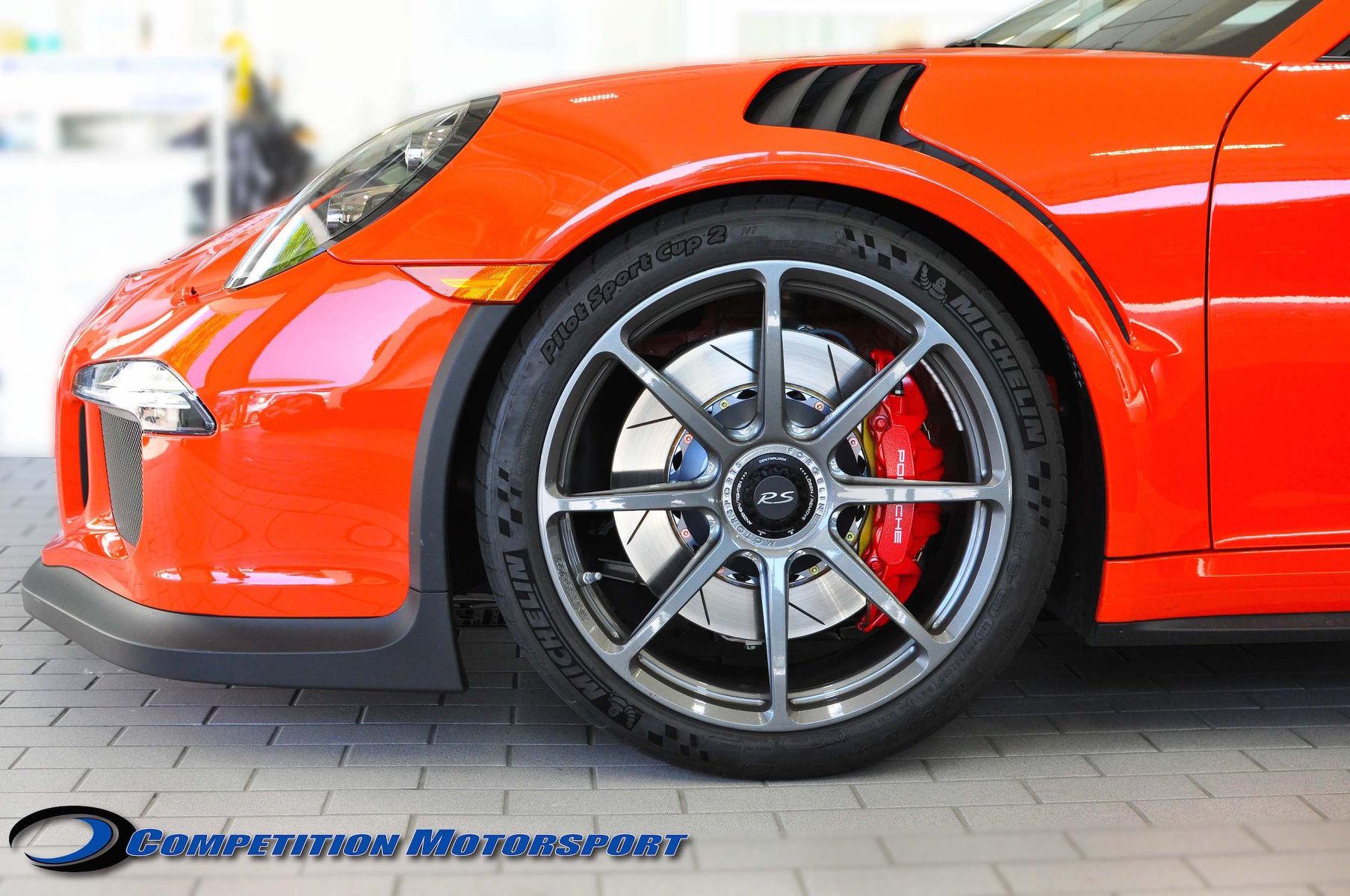 2016 Porsche 911 | Brian Ringwelski's Porsche 991 GT3RS on Forgeline One Piece Forged Monoblock GE1 Wheels - Wheel Shot
