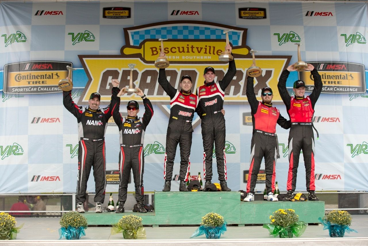 | Forgeline Teams on the IMSA GS Podium at VIR