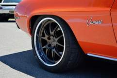 Brian Coney's Pro-Touring '69 Camaro on Forgeline GA3 Wheels