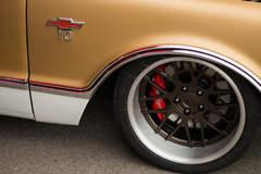 Mark Turner's 1968 Chevrolet C10 on Forgeline DE3C Concave Wheels