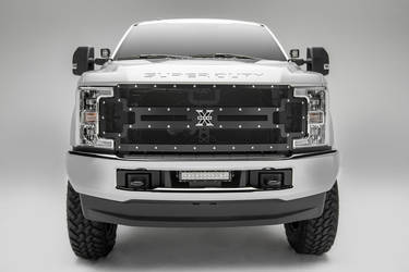 2017 Ford F-250 Super Duty | 2017 Ford Super Duty Truck Grille by T-REX Truck Products