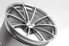 Forgeline One Piece Forged Monoblock GT1 5-Lug in Satin Hyper Silver