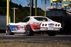 Detroit Speed's '72 Corvette on Forgeline GA3R Wheels