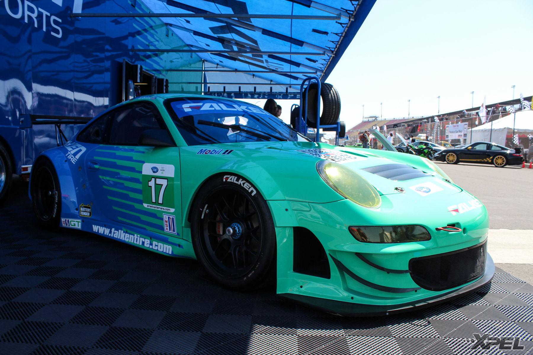 Porsche  | Falken booth at the California Festival of Speed 2015