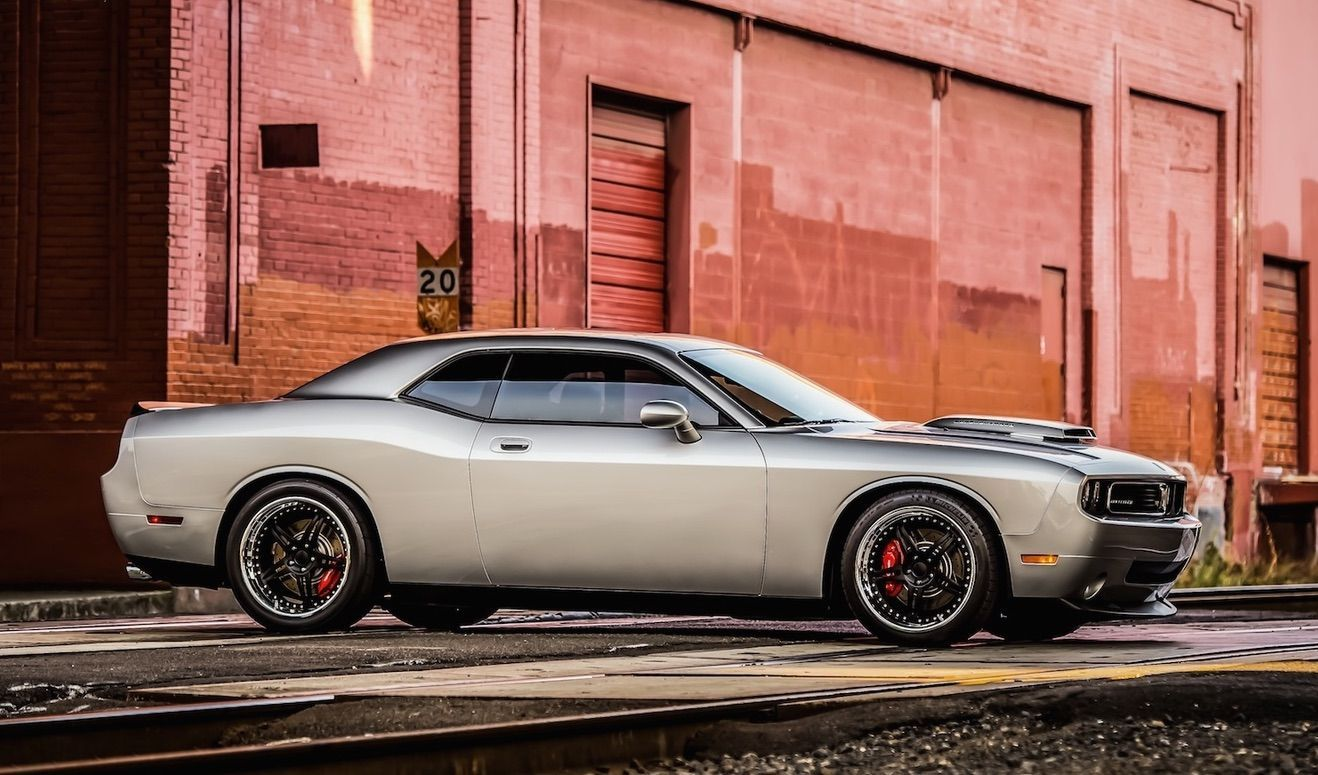 2009 Dodge Challenger | Challenger SRT on Forgeline SP3S Wheels