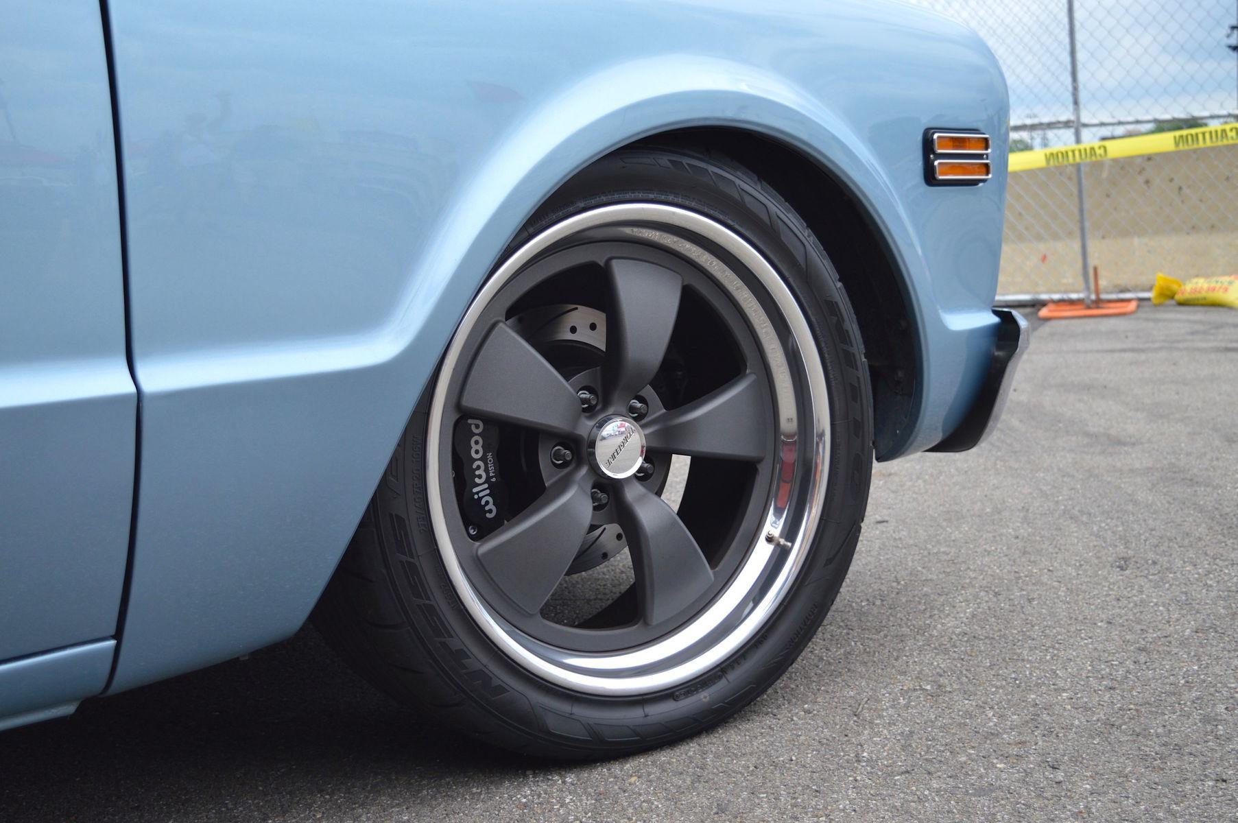 1968 Chevrolet C-10 | Randy Johnson's D&Z Customs 1968 Chevy C10 Shop Truck on Forgeline Heritage Series CR3 Wheels