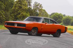 Moe's Charger by Detroit Speed on Grip Equipped Dropkick Wheels
