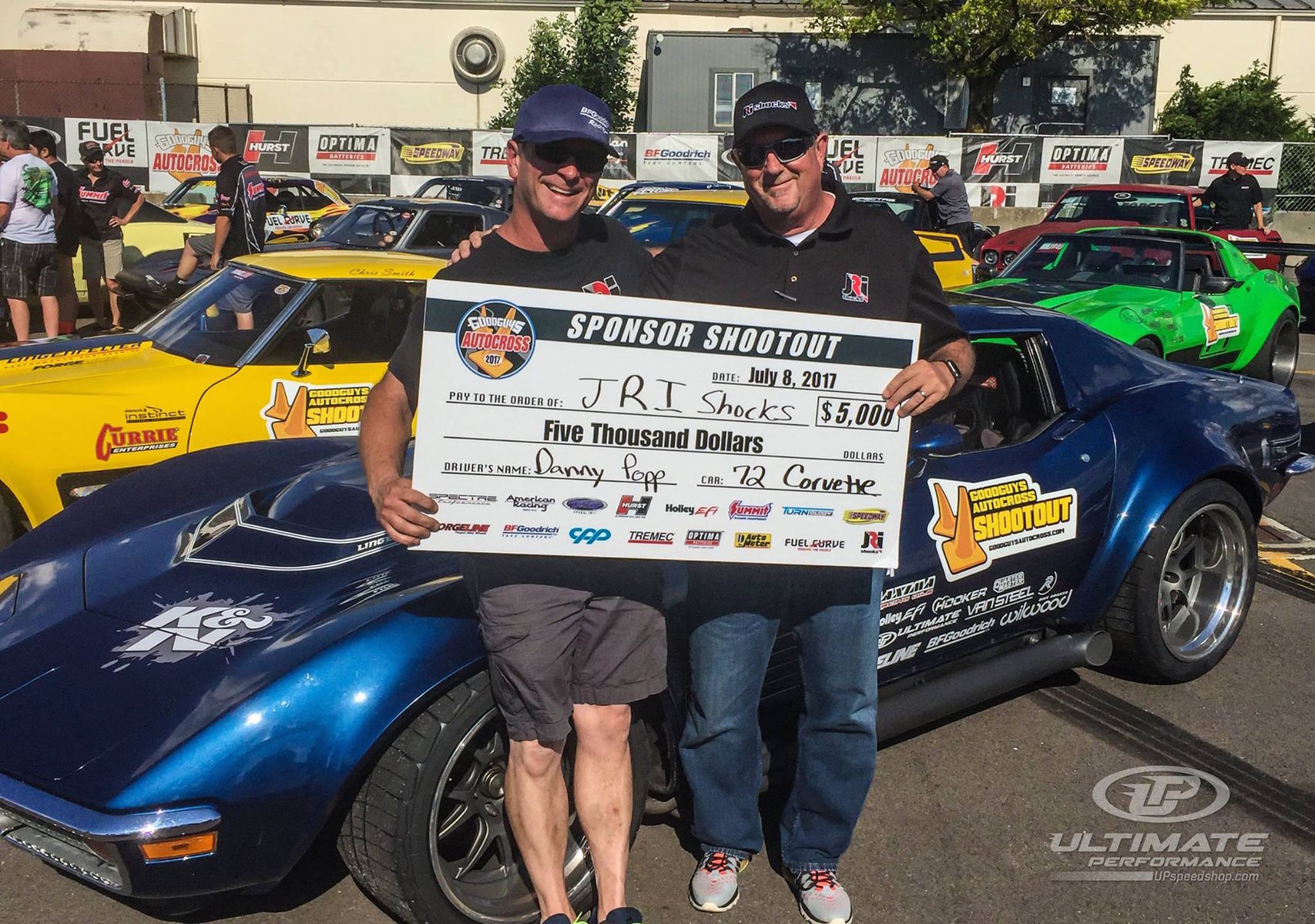 1972 Chevrolet Corvette Stingray | Danny Popp Wins 2017 Goodguys PPG Nationals Sponsor Shootout with '72 Corvette on Forgeline GA3R Wheels