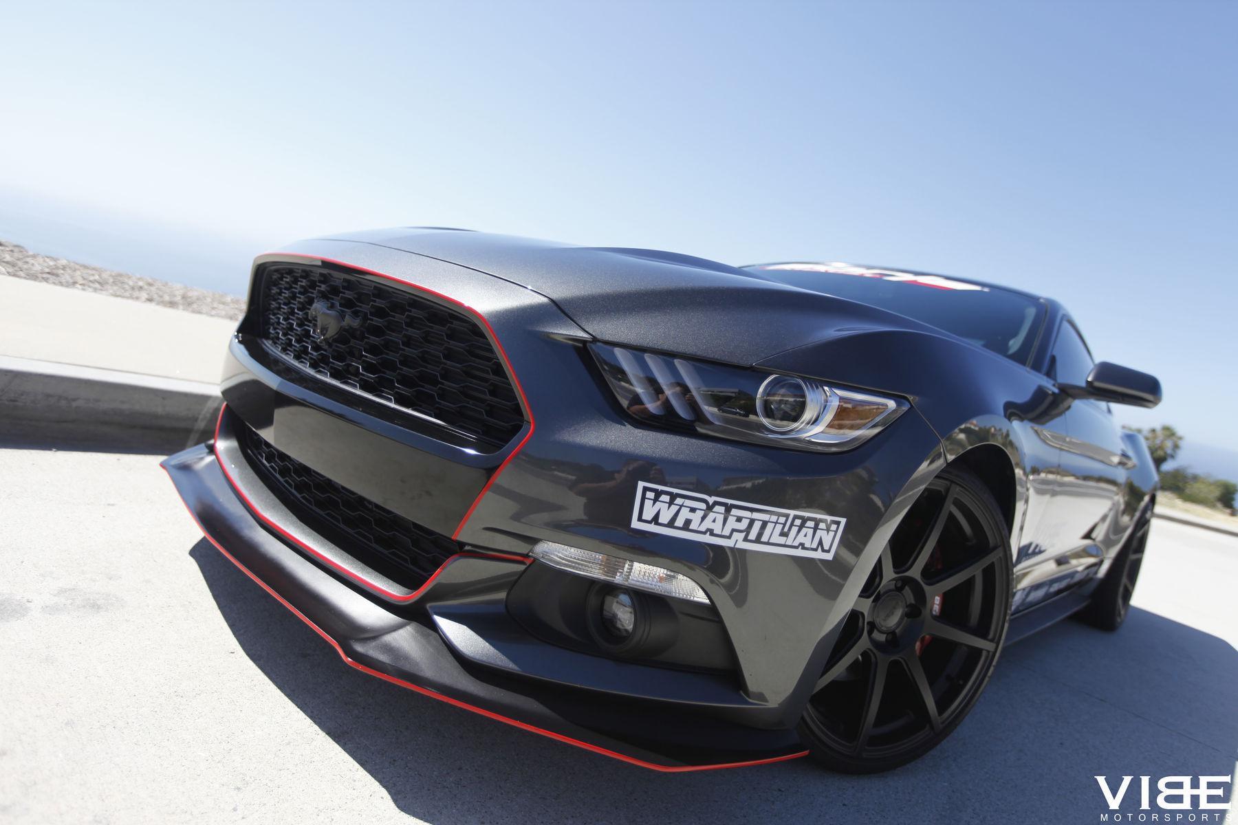 15 Ecoboost Mustang On 20s Aftermarket Velgen Wheels