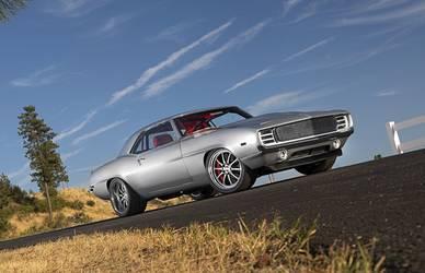 1969 Chevrolet Camaro | Keith Byer's '69 Camaro on Forgeline ZX3P Wheels