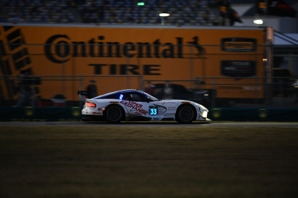 | Continental Tire leading the pack at the Rolex 24