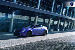 Matte Purple Cadillac CTS-V - Front Angle