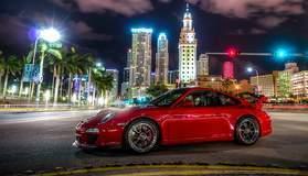 Jennifer Moss's Porsche GT3 on Center Locking Forgeline GA3R Wheels