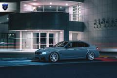 BMW M4 - Gray Driver Side Shot