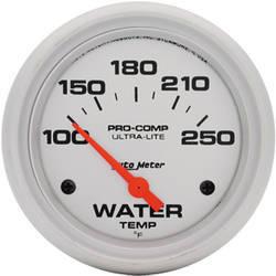 Auto Meter Pro-Comp Water Temp Gauge