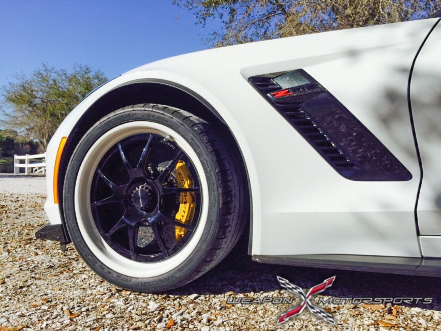 2015 Chevrolet Corvette Z06 | C7 Z06 Convertible on GA3R Center Locking Wheels