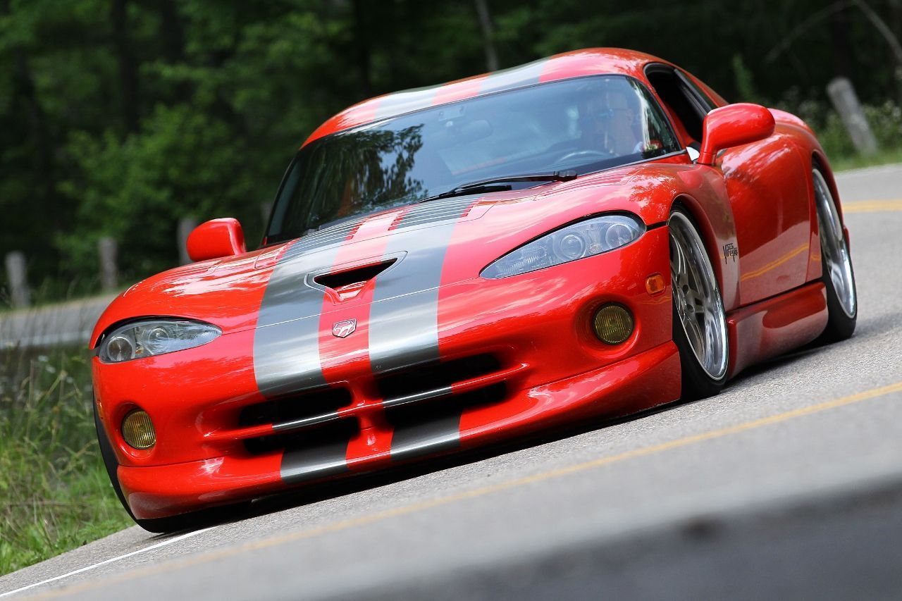 2002 Dodge Viper   Rich Sclichter's Dodge Viper on Forgeline SP3P Wheels