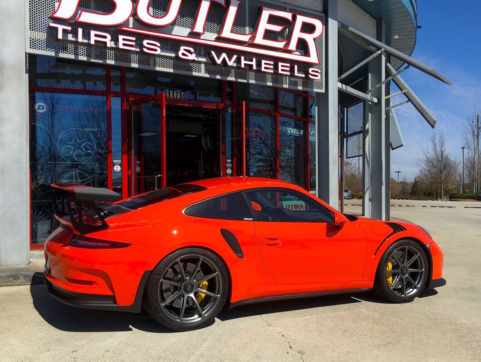 2016 Porsche 911 | Seth Thomas' Porsche 991 GT3 RS on Forgeline One Piece Forged Monoblock GE1 Centerlock Wheels