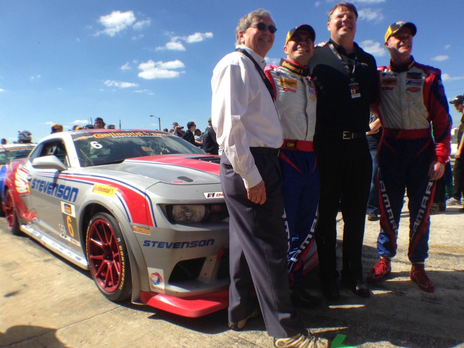 2014 Chevrolet Camaro | Stevenson Motorsports #6 GS Camaro Wins Sebring on Forgeline GS1R Wheels