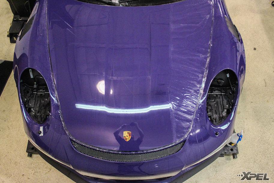 2016 Porsche 911 | Installing XPEL ULTIMATE on the Porsche GT3RS