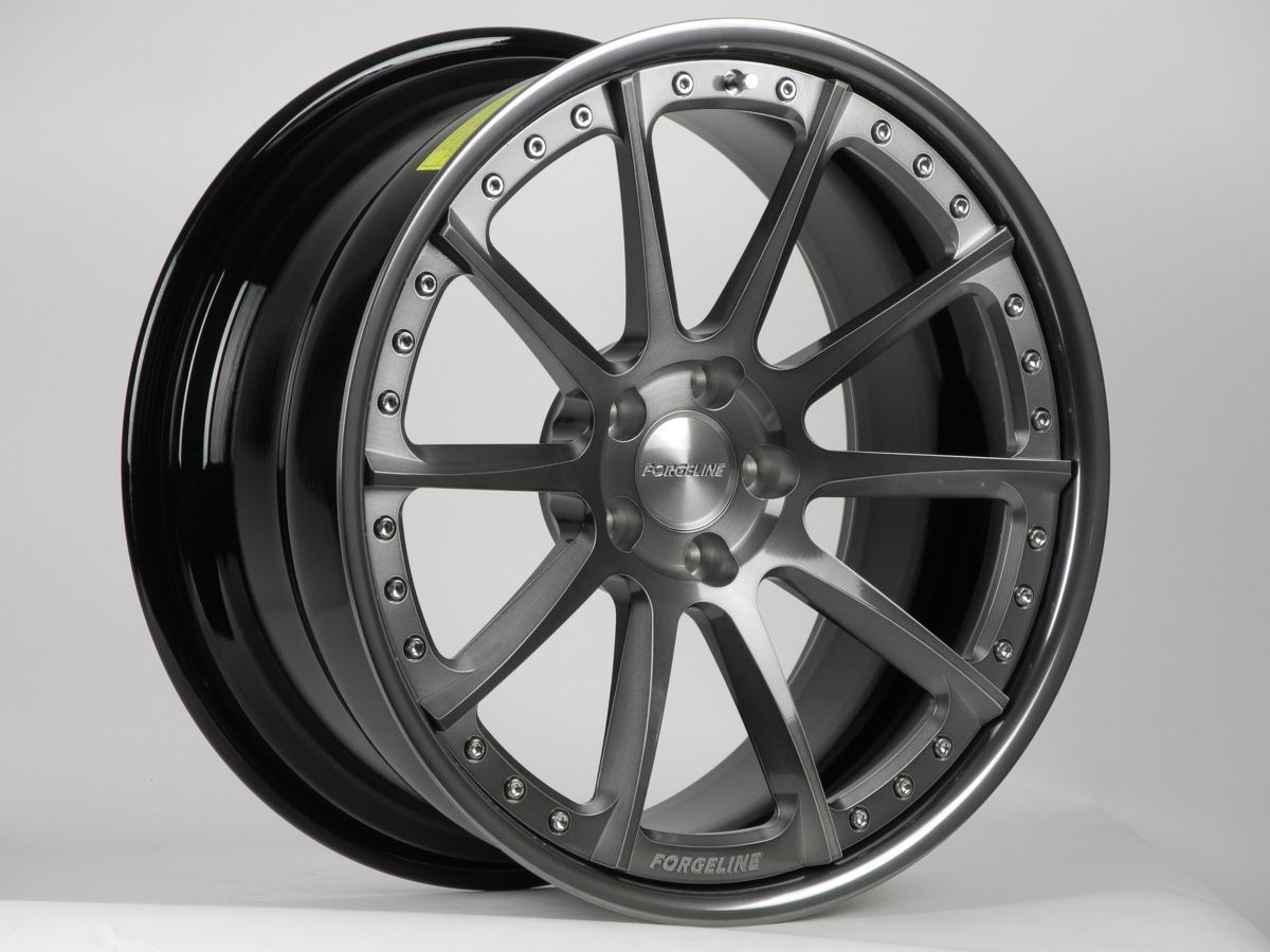 | Forgeline RB3C in Transparent Smoke with Exposed Hardware