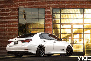 2014 Lexus GS 350 | Lexus GS350 on Gianelle Wheels - Side Angle Shot