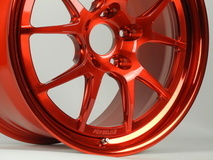 Forgeline GA3R Wheel in Transparent Red