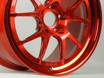Forgeline GA3R Wheel in Transparent Red