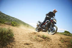 Riding off-road