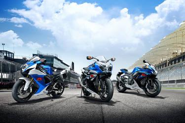 2014 Suzuki GSX-R1000   The GSXR line-up