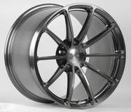 Forgeline One Piece Forged Monoblock GT1 5-Lug in Transparent Smoke