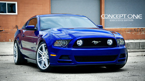 '14 Ford Mustang on Concept One CSM7's