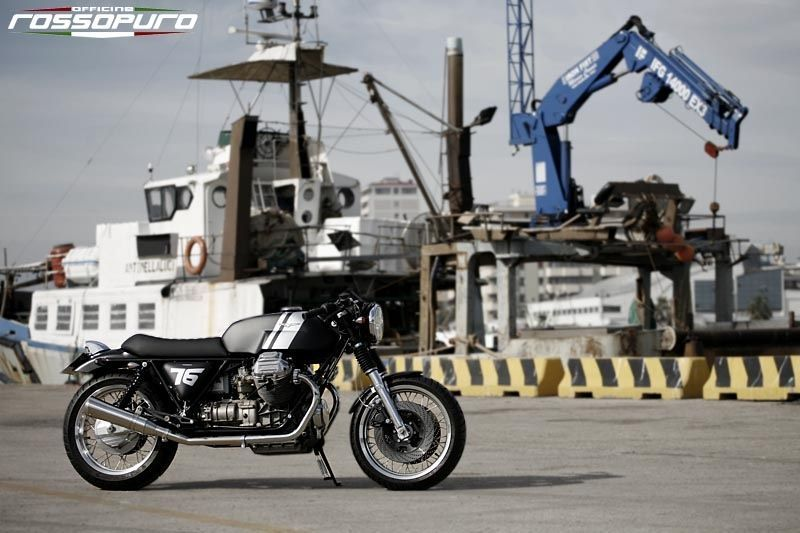 Moto Guzzi    Officine Rossopuro '76'