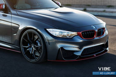 "2016 BMW M3 | BMW M3 on 20"" XO Luxury Wheels - Accents"