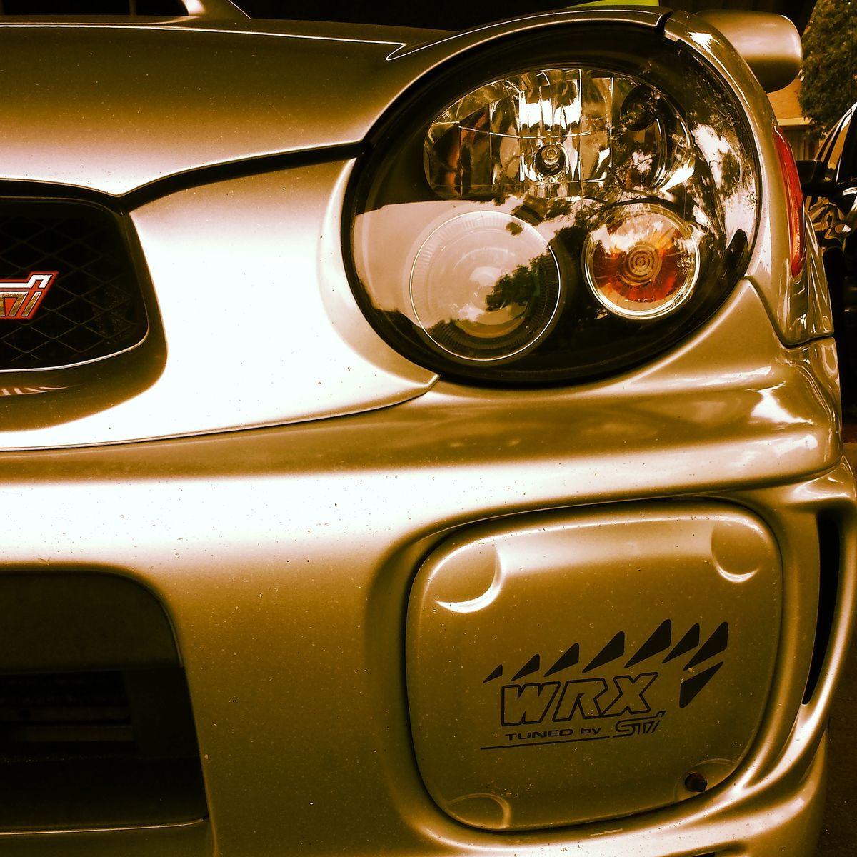 2002 Subaru Impreza WRX   Fresh Front end
