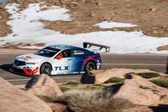 RealTime Racing Sets Course Record at Pikes Peak International Hill Climb on Forgeline One Piece Forged Monoblock GTD1 Wheels