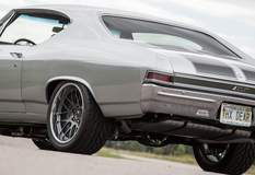 Dave Reeder's 1968 Chevy Chevelle on Forgeline DE3C Concave Wheels