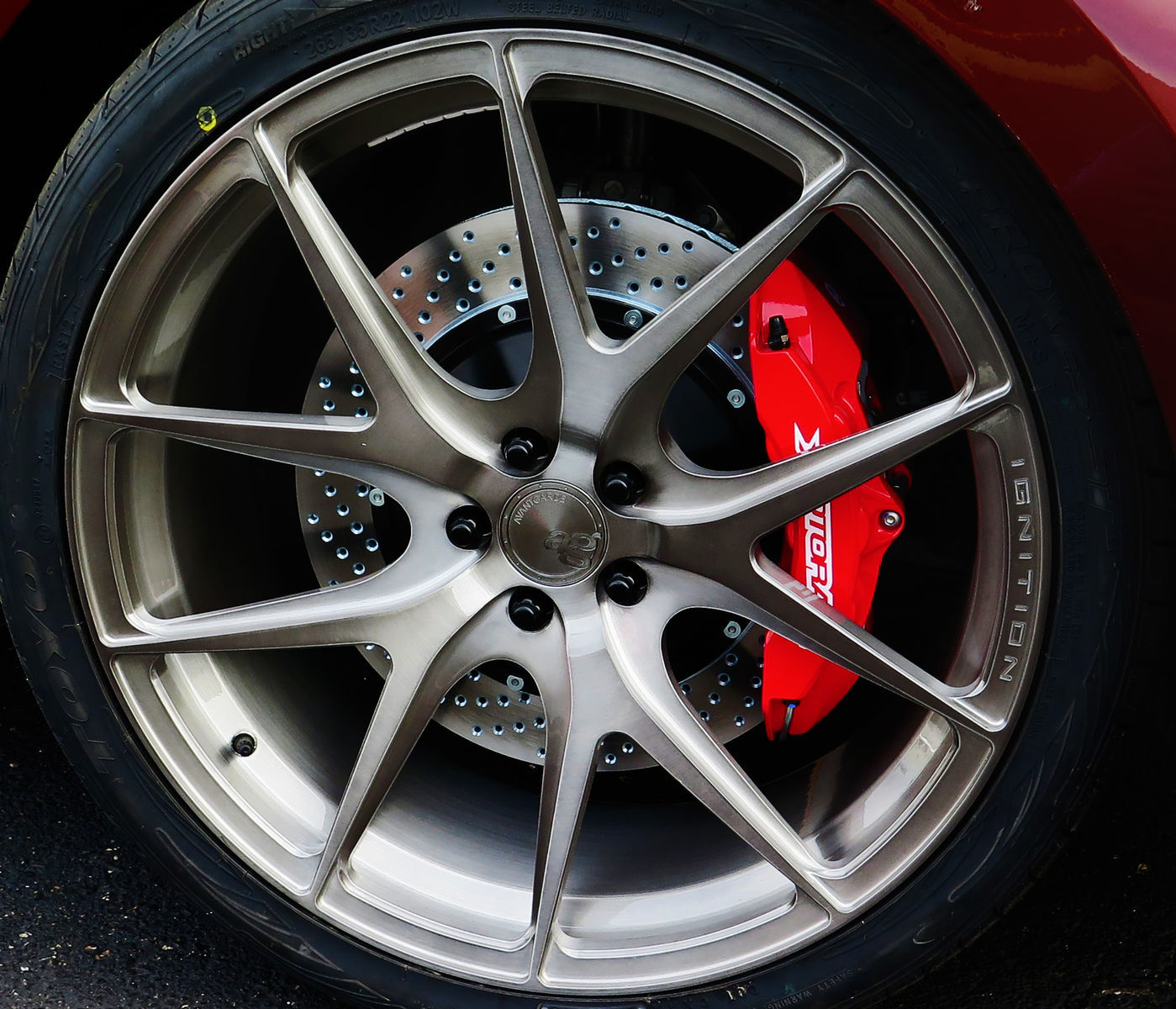 Ford Edge  Webasto Ford Edge Brakes Calipers Avant Garde Wheels