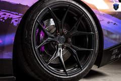 Wrapped Nissan GTR - Wheel