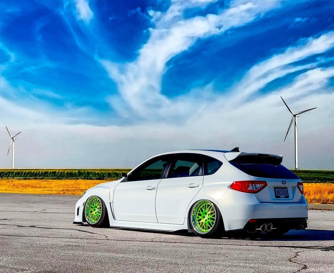 2012 Subaru WRX | Corey West's Slammed Subaru WRX on Forgeline GX3 Wheels