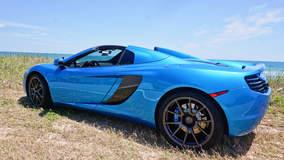 Steve M's McLaren MP4-12C Spider on Forgeline One Piece Forged Monoblock GA1R Wheels