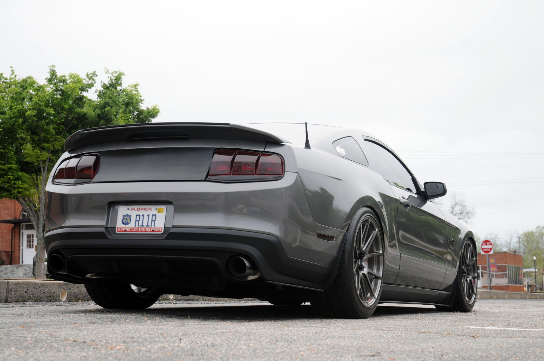 2011 Ford Mustang | Sharad Raldris' S197 Mustang GT on Forgeline One Piece Forged Monoblock GA1R Open Lug Wheels