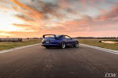 Sharkey's Royal Sapphire Pearl Blue Toyota MKIV Supra  - CCW Classic Forged 3 Piece Wheels