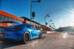 John Wu's Porsche Cayman GT4 on Forgeline One Piece Forged Monoblock GS1R Wheels