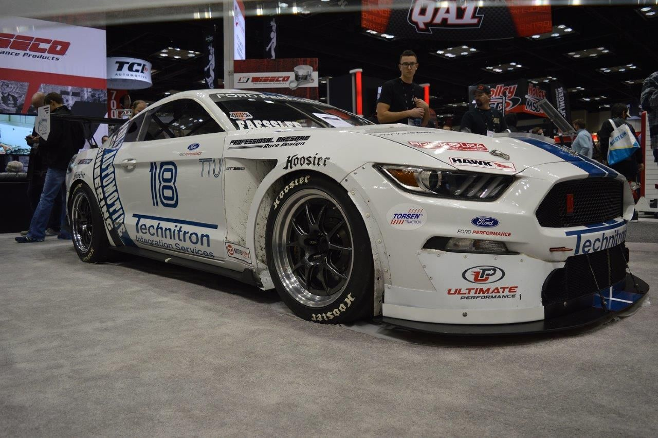2017 Ford Mustang | Brian Faessler's Turbocharged Ford Mustang GT350R on Forgeline GA3R Wheels