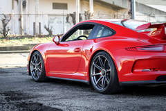 Alan Coleman's Porsche 991 GT3 on Forgeline One Piece Forged Monoblock GE1 Wheels