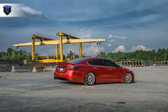 Custom Nissan Maxima - Rear Passenger Angled Shot