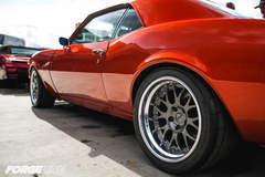 Starlite Rod & Kustom '68 Chevy Camaro on Forgeline WC3 Wheels