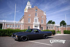 "Eric Boily's ""Blessed Persistence"" 1971 Chevy El Camino on Forgeline RB3C Wheels"